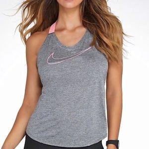 Nike elastika double strap tank